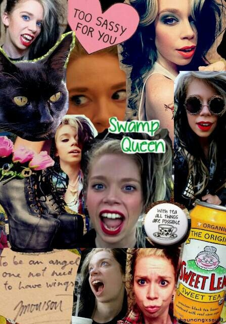Grav3yardgirl yayus! I love her!! Catch her YouTube channel!!!