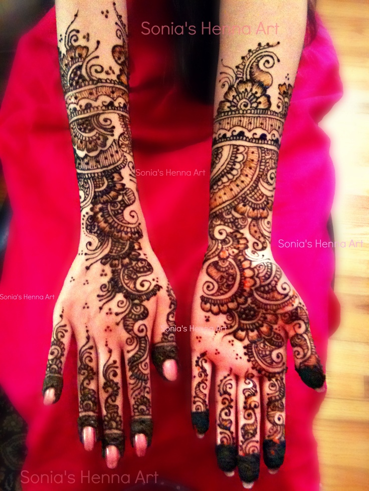 Henna Tattoo For Indian Wedding: Pinterest • The World's Catalog Of Ideas