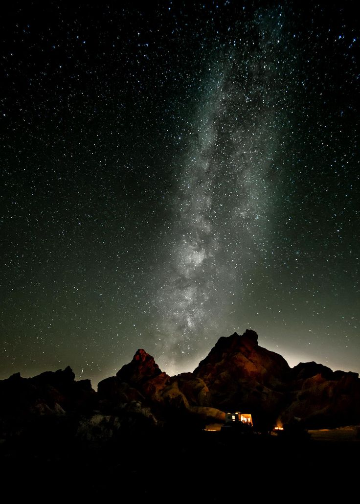 Stargazers will delight in the view from Great Basin, one of the darkest spots in the country after the sun goes down. You'll want to spend the night so you can marvel at the Milky Way and constellations in the deep night sky, a rare treat as light pollution blocks the view from many cities around the country.