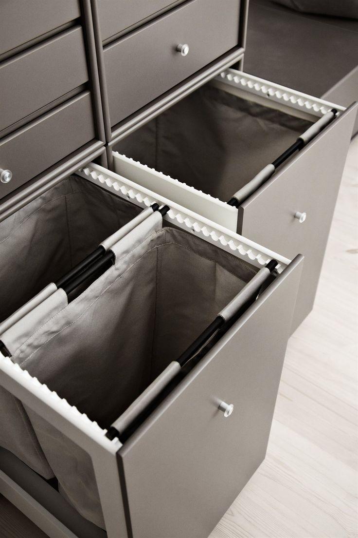 Montana Wardrobe drawers. Montana wardrobe in the colour Coffee. #montanafurniture #danishdesign #coffee #wardrobe #montana #drawers