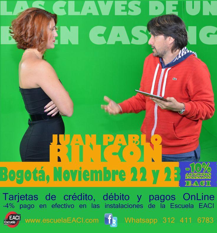 Las Claves de un Buen Casting con Juan Pablo Rincón