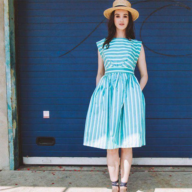 Robe Chiara de Wear Lemonade / coudre ses vetements / diy sewing