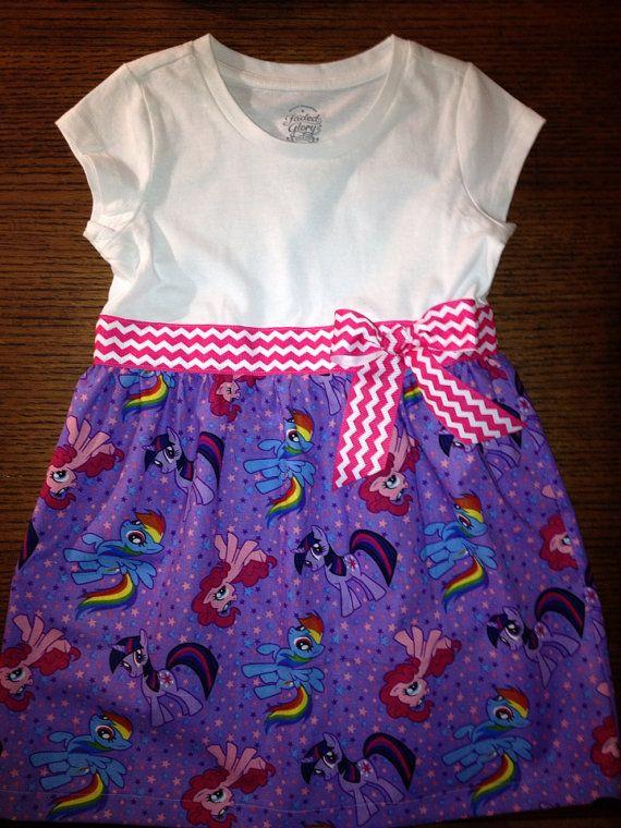 My Little Pony Dress on Etsy, $30.00
