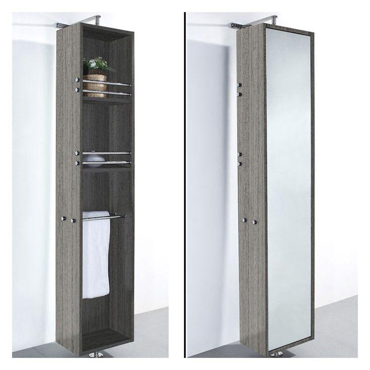 Wyndham Collection WCV202GO April Rotating Wall Cabinet   $699 @hayneedle · Linen  CabinetsBath CabinetsBathroom ...