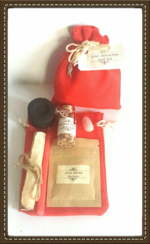 Love Spell Kit- $10.00 https://www.ancientvisions.com.au