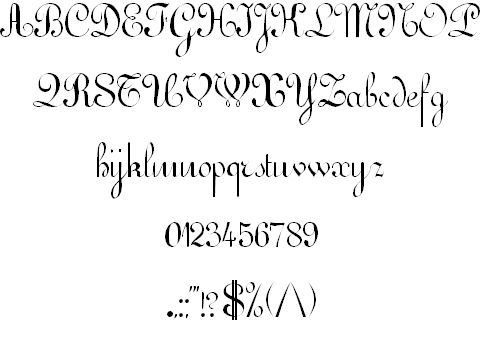 FONT WILDSONG