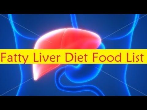 Fatty Liver Diet Food List - Fatty Liver Disease Treatment - YouTube