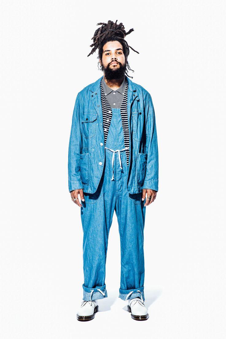 Engineered Garments Spring 2018 Menswear Collection Photos - Vogue