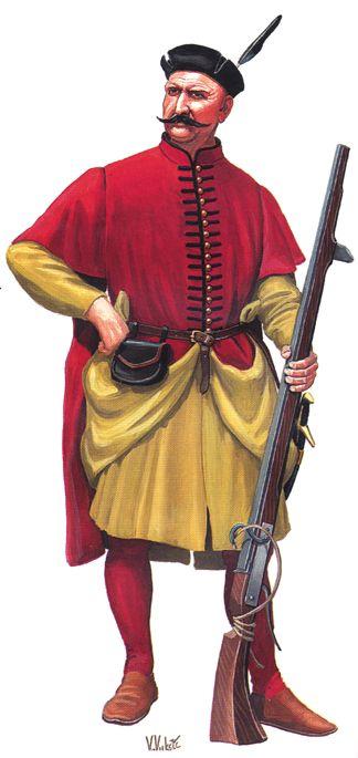 Croatian light infantryman (Haramija), Battle of Sisak (1593)