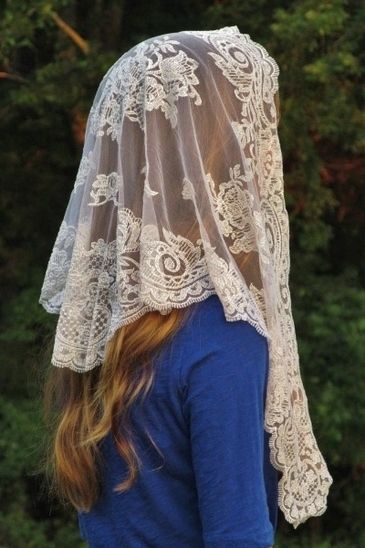 Authentic Spanish Floral Mantillas - Veils by Lily