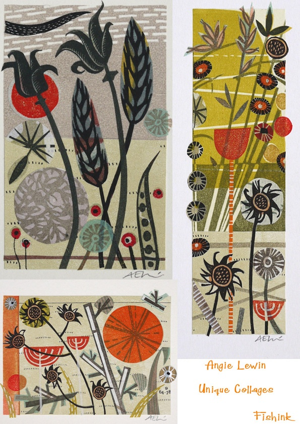 Angie Lewin http://fishinkblog.wordpress.com/2010/12/06/angie-lewin-and-mark-hearlds-unique-collages-at-the-scottish-gallery/