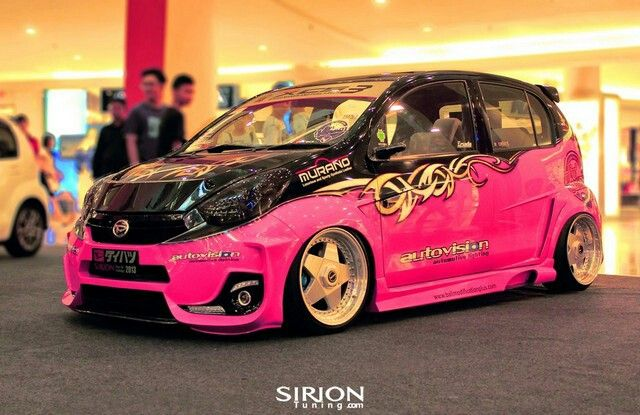 Daihatsu All New Sirion from BaliModificationPlus.com the King Indonesia Sirion DressUp Challenge 2013.