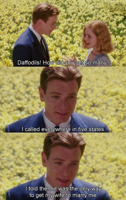 Big fish love this movie if someone went all edward for Big fish facebook