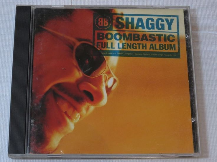 Boombastic by Shaggy CD 1995 Virgin Records In the Summertime Boomtastic
