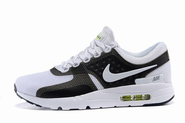 pas mal 6f998 0d565 chaussures air max zero,air max zero blanche et noir homme ...