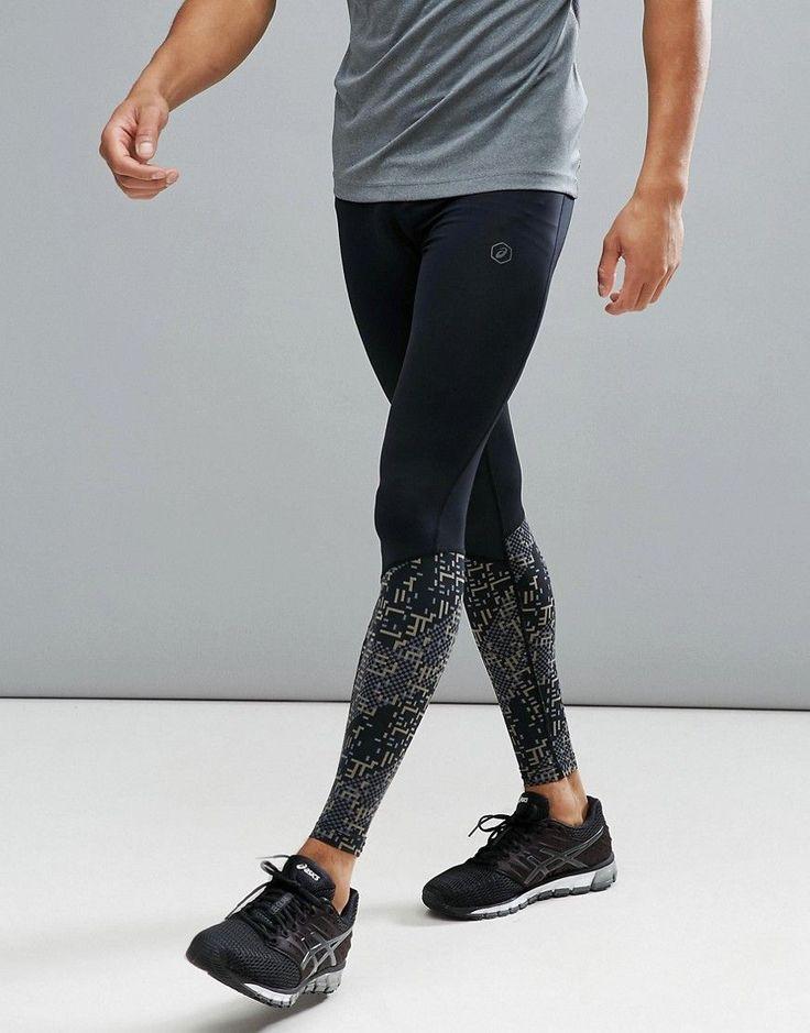 ASICS RUNNING RACE TIGHTS IN BLACK 141211-1179 - BLACK. #asics #cloth #