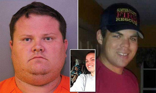 Man 'kills ex's new firefighter boyfriend in a jealous rage after waiting for the couple to arrive home with a child in the car' | Daily Mail Online