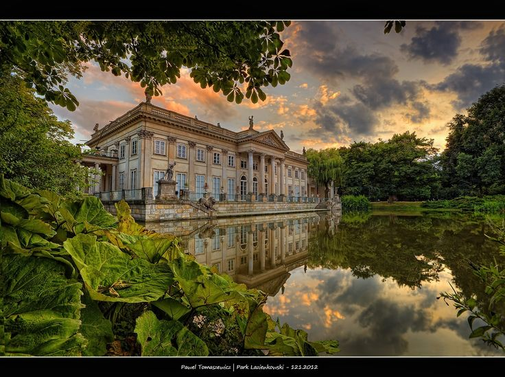 Palace on Water ...Warsaw, Poland by Pawel Tomaszewicz on 500px.