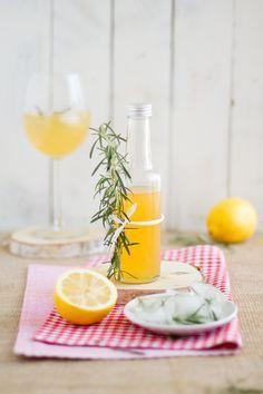 Rosmarin Zitronen Grapefruit Sirup // Rosemary Lemon Grapefruit Syrup