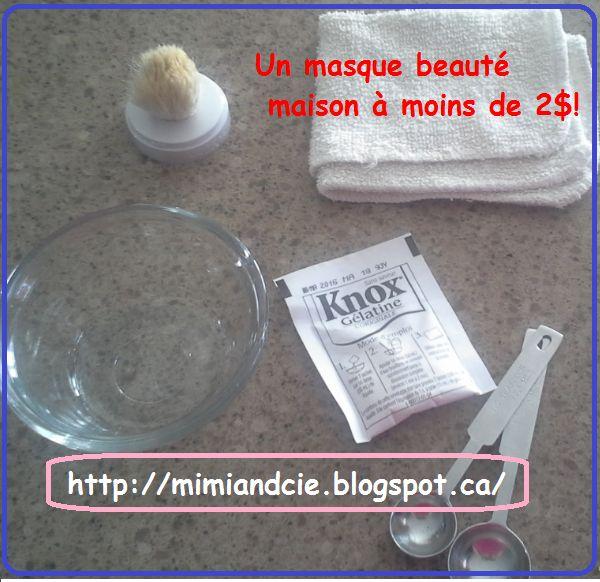 Un masque beauté maison essayé et approuvé!  // A diy beauty mask tried and approuved!
