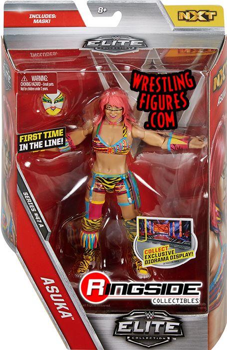 Asuka - WWE Elite 47 WWE Toy Wrestling Action Figure