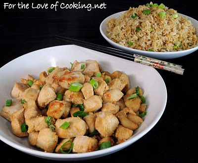 For the Love of Cooking » Chinese Garlic Chicken AND a Giveaway **GIVEAWAY WINNER CHOSEN**!!