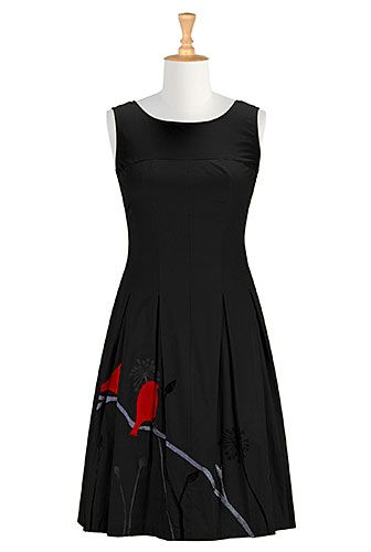 THIS WEBSITE HAS SO MANY GREAT DRESSES, SHIRTS, ETC...they are fairly modest too. -- Birdsong cotton poplin dress