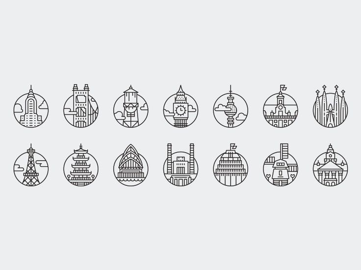 Cities _ Pictograms