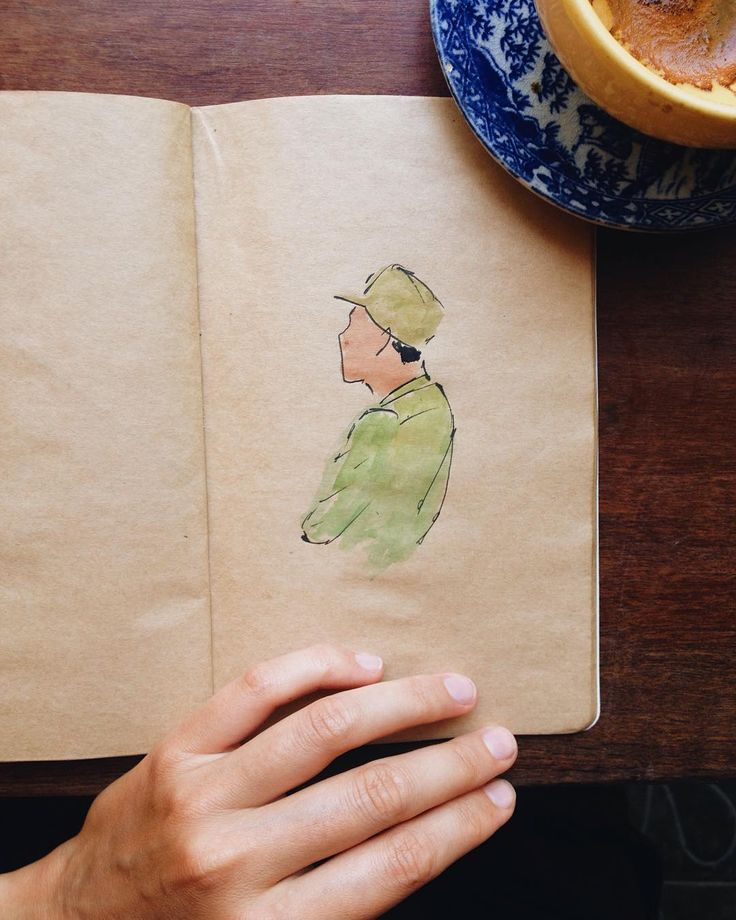 #vietnamese in Hoi An #drawing #watercolor #diary
