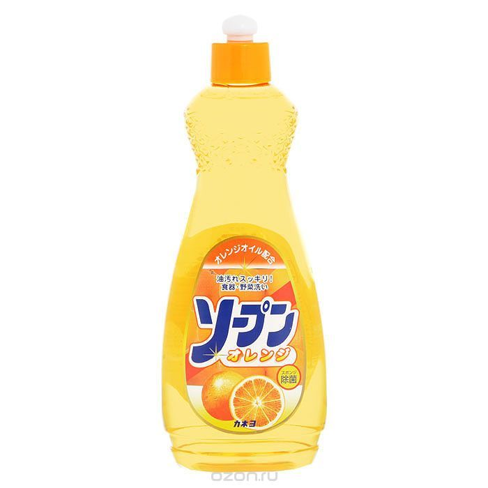 Жидкость для мытья посуды Kaneyo, сладкий апельсин, 600 мл
