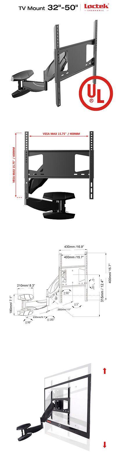 TV Mounts and Brackets: Loctek S1 Articulating Full Motion Swivel Tv Wall Mount Bracket 32 37 40 42 50 -> BUY IT NOW ONLY: $72.99 on eBay!