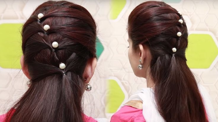 Quick hairstyles for long hair tutorial || simple hairstyles for girls |...