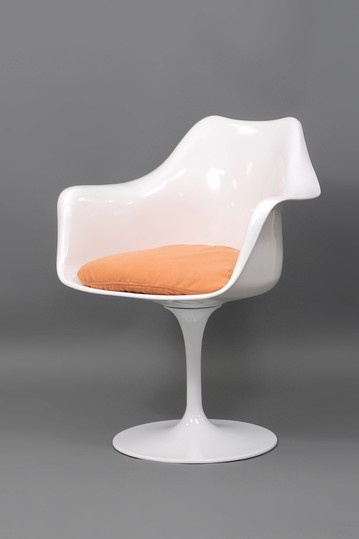 Modern Movement Furniture  White Sundance Arm Chair - Orange