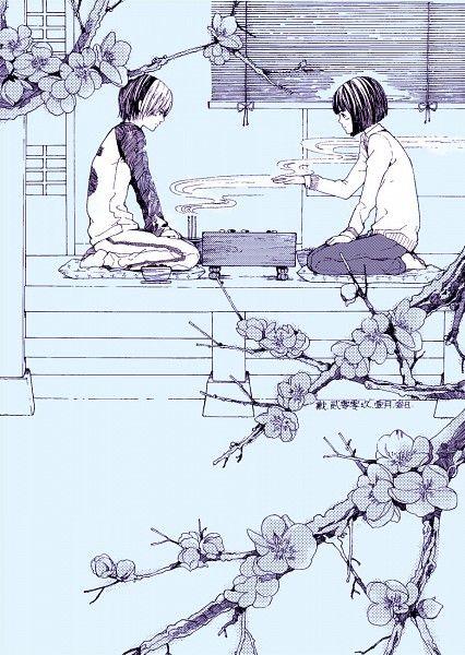 Tags: Anime, Hikaru no Go, Shindou Hikaru, Touya Akira, DAISY(artist)