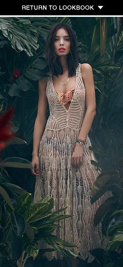 shopbop.com  Zimmermann's Elixir Crochet Cover Up Dress $350.00