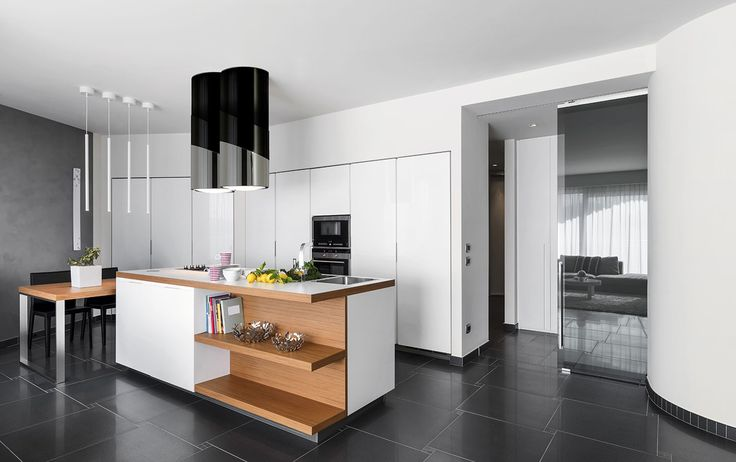 Cooker Hood Cylin B Decorative island hoods by handmade Combine stainless steel with polished painting Absorption: 900m3/hr Lights: Neon lamp 1 x 40W Noise level: < 65Db Control: remote control Grease filters: Anodized aluminium Carbon Filter  Dimension: : Ф 400 x max H920-1120mm Customized color: Black and white Made in Italy  Collection: Legend