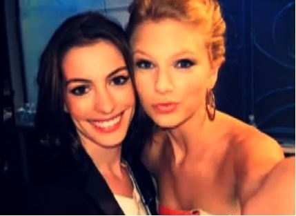 Rare of Taylor and Anne Hatheway