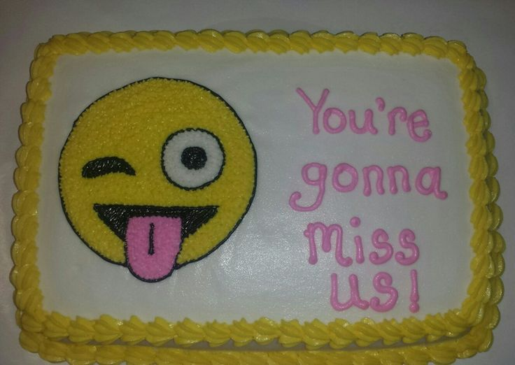 Photos 10 Hilarious Farewell Cakes That Would Turn Sad Goodbyes