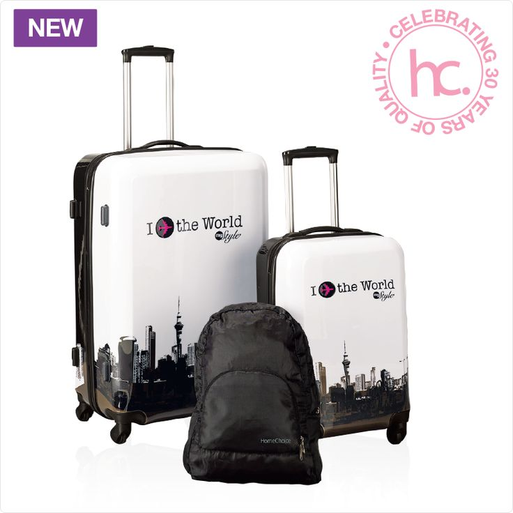 Horizon luggage set from R232 p/m