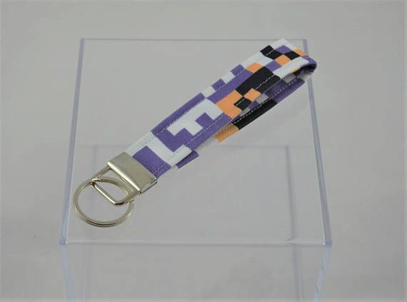 MissingNo Pokemon Fabric Strap Keychain  6 Strap