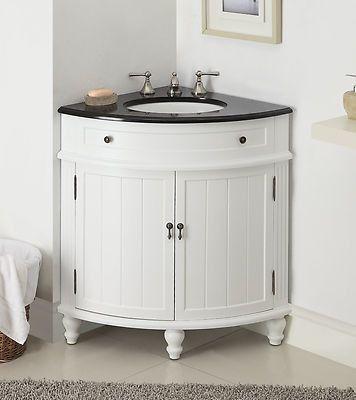"""24"""" Thomasville Corner Shape Bathroom Sink Vanity # CF-47533GT"""