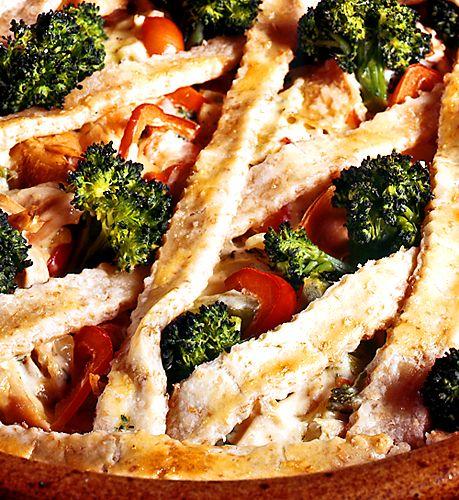 Kycklingpaj med broccoli | Recept från Köket.se
