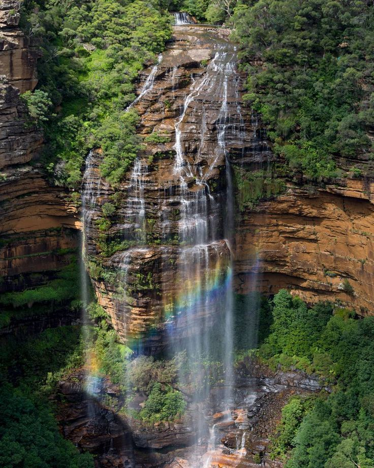 Seven waterfalls, one epic walk   Blog - NSW National Parks