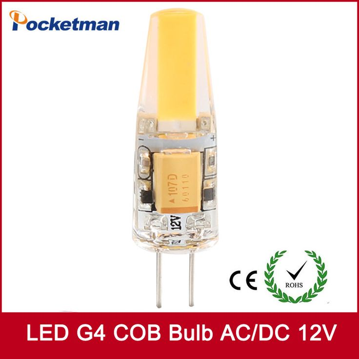 2017 Super bright led bulb G4 COB AC/DC 12V g4 led lamp Dimming for Crystal LED Spotlight light bulb Warm Cold White #Affiliate