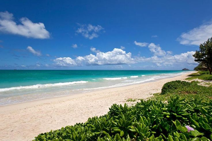 One of my favourite beaches in the entire world. Kailua Beach, Oahu, Hawaii. A short drive from Honolulu