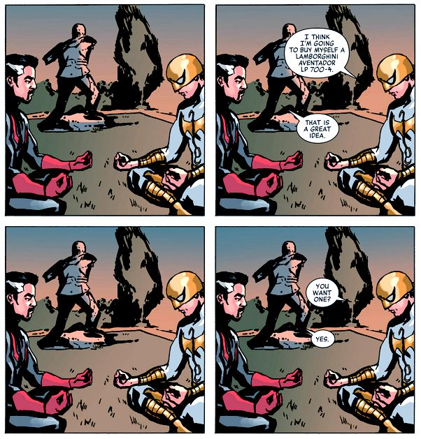 Reason #439 to be friends with Danny Rand.  New Avengers #31