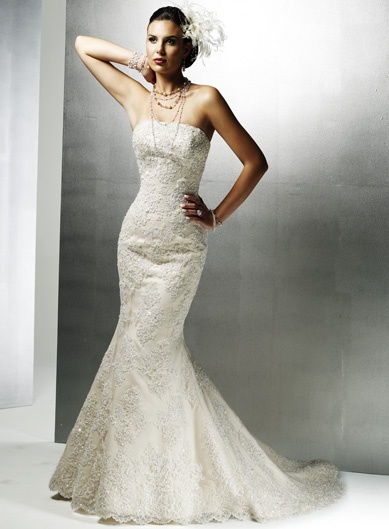 Customized Wedding Dresses At Affodable Prices: Dresses Wedding, Wedding Dressses, Mermaids Wedding Dresses, Lace Wedding Dresses, Bridal Dresses, Strapless Wedding Dresses, Mermaids Style, Mermaids Dresses, Lace Dresses