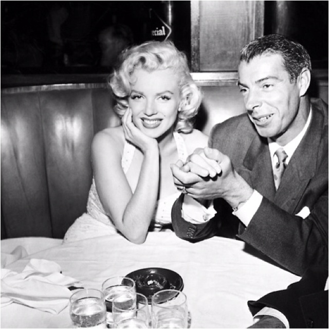 Marilyn Monroe and Joe DiMaggio, 1954
