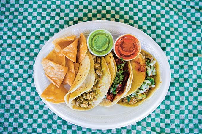 The Tacos of Texas, a detailed investigation of the taco culture in Texas and the recipes behind it all.