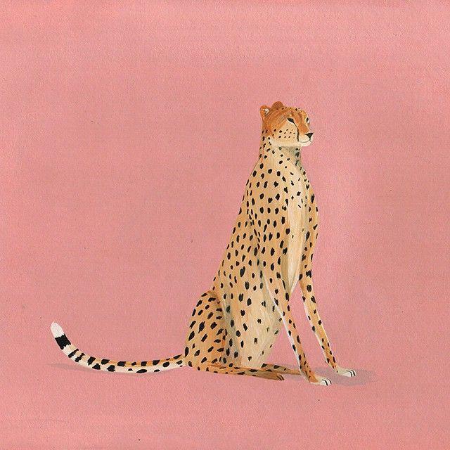 Paper painting. #cheetah